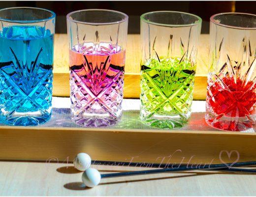 DIY water glass xylophone