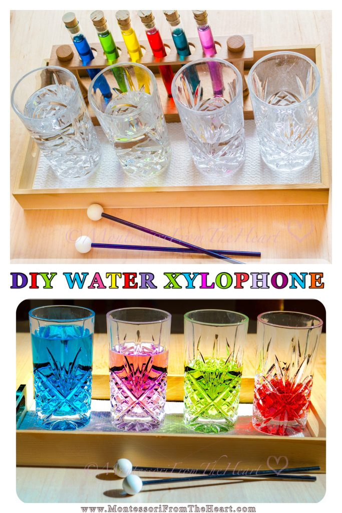 Musical Water Glass Xylophone