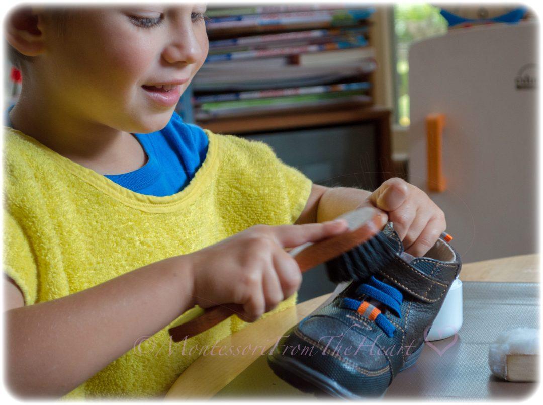Shoe-Polishing-Montessori-Practical-Life-Activity