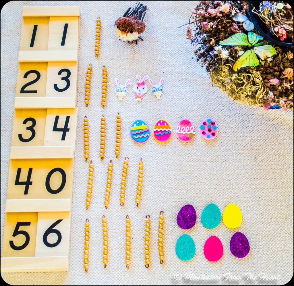 Spring-Inspired-Montessori-Tens-Board