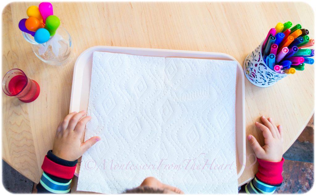 Paper-Towel-Markers-Kids-Process-Art-Set-Up