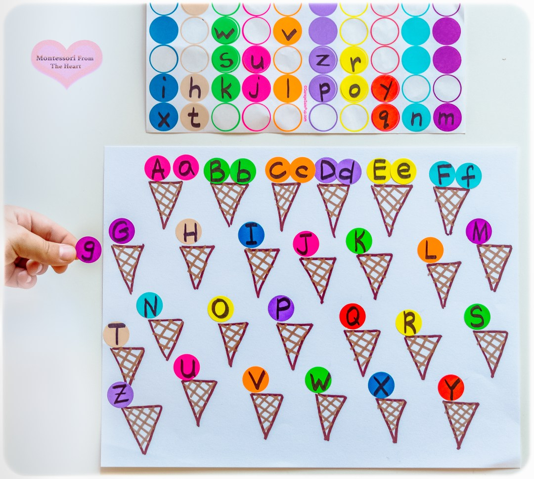 Ice-Cream-Lower-Case-Upper-Case-ABC-Matching