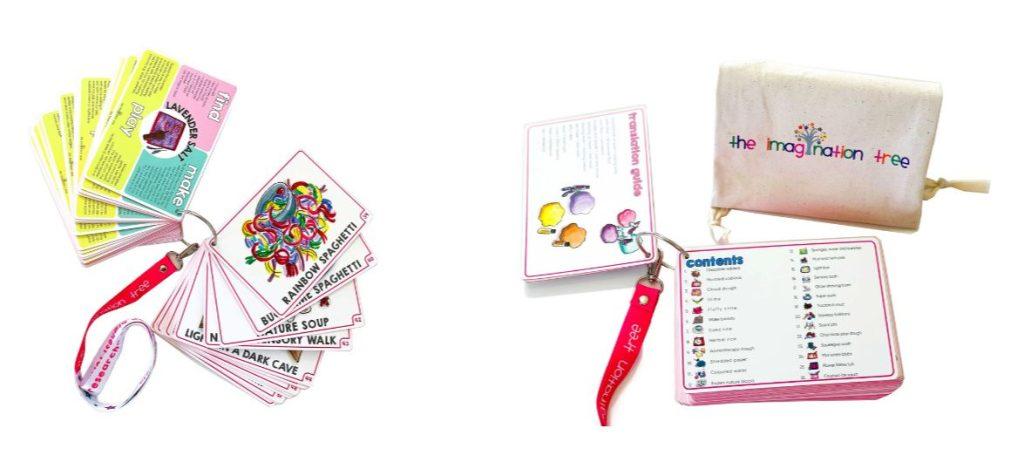 Sensory Invitations to Play Cards