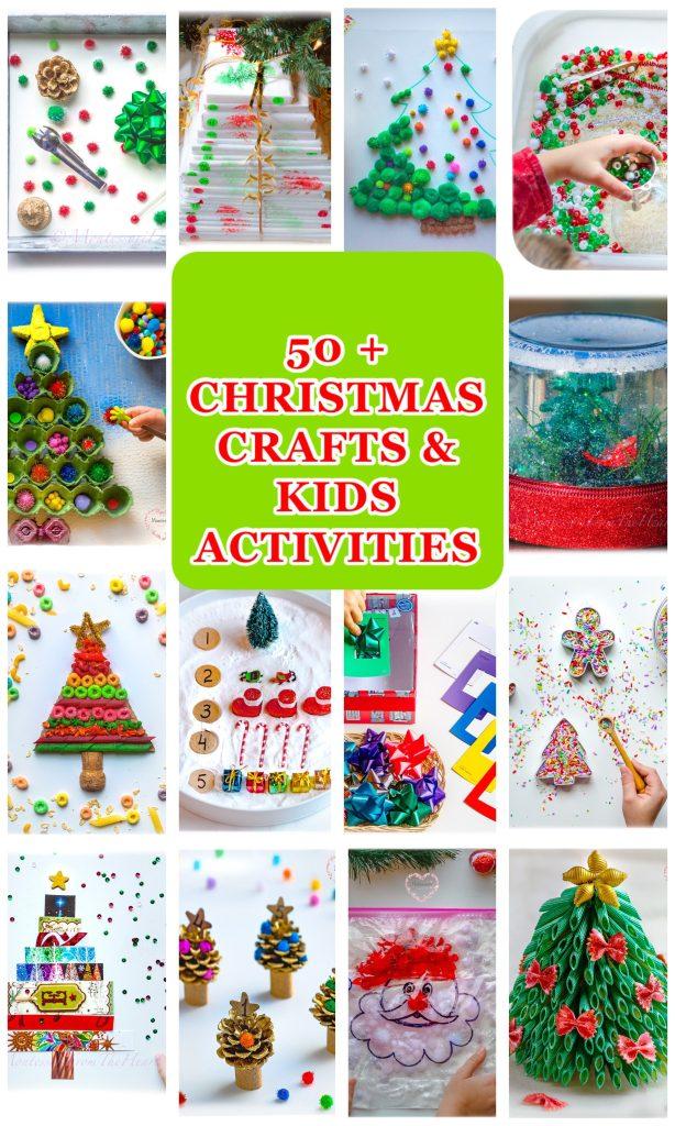 50 + Christmas Activities