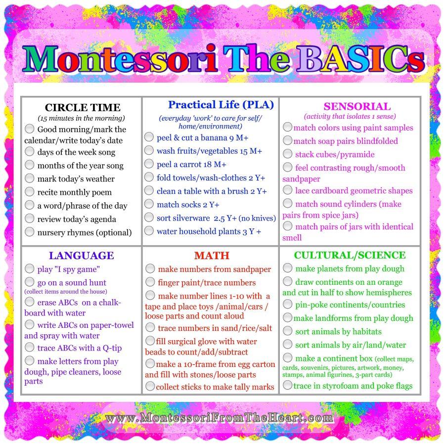 *Montessori-The-Basics-Curriculum