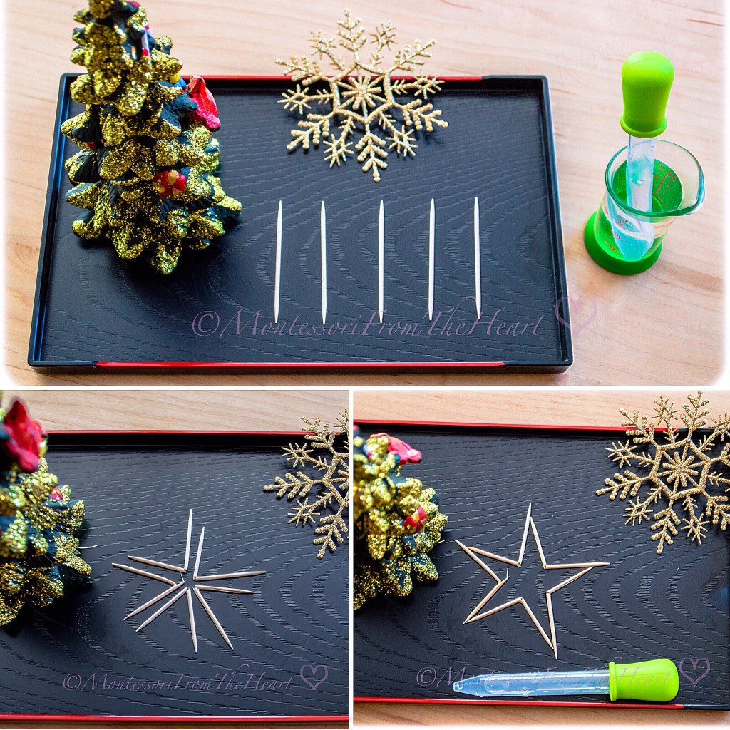 Toothpick Star-Trick-Kids-STEM