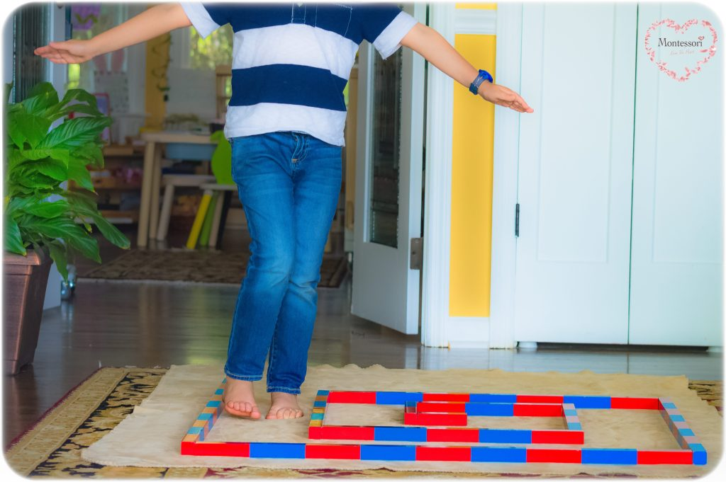 Walking-The-Line-Montessori-Numbers-Rods