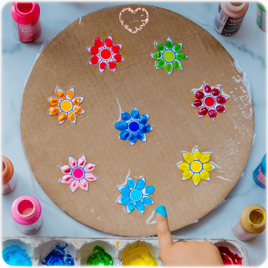 FLOWER-FINGER-PAINTING-Kids-Activity
