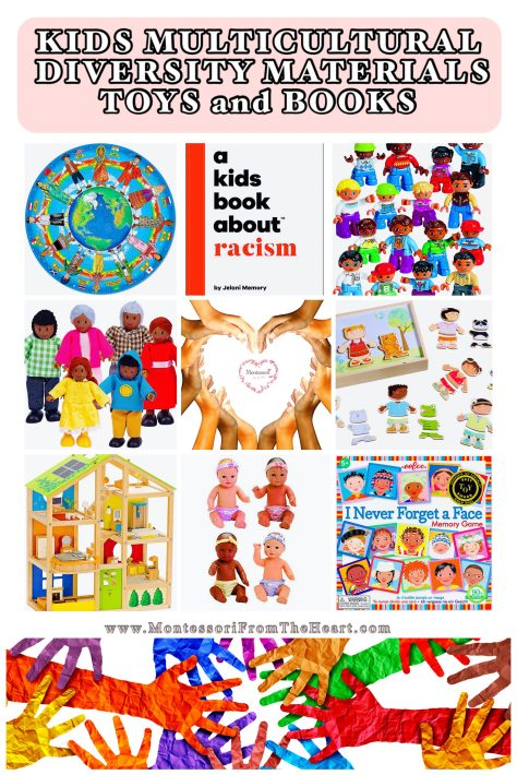 Kids Multicultural Diversity Materials-Preschool