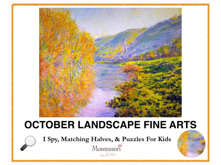 October Fine Arts Kids Activity Pack