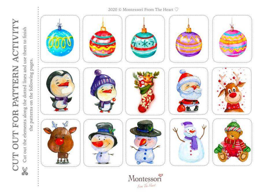 PATTERN RECOGNITION | LOGIC Montessori Kids Activity Pack
