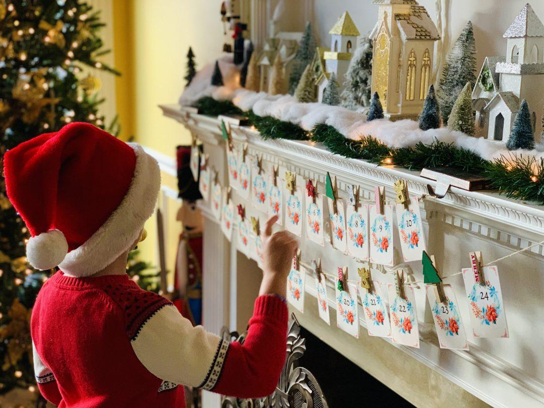 24 DAYS OF CHRISTMAS Printable