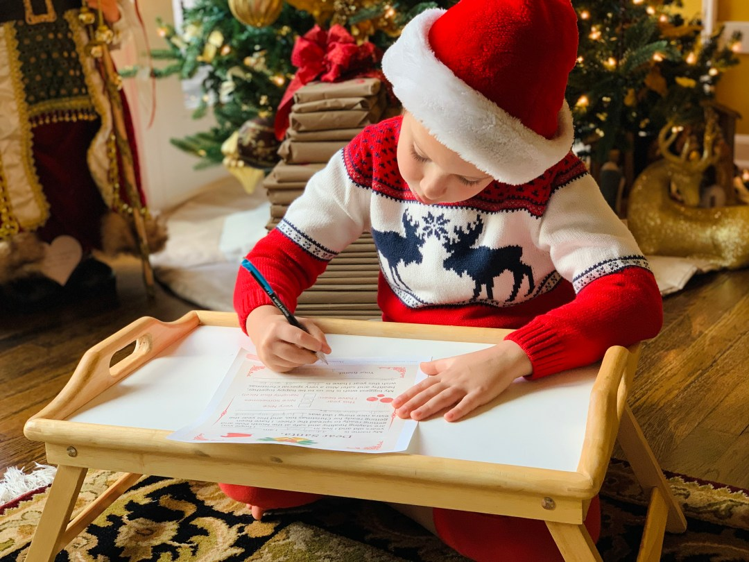 LETTER TO SANTA | WRITING TO SANTA