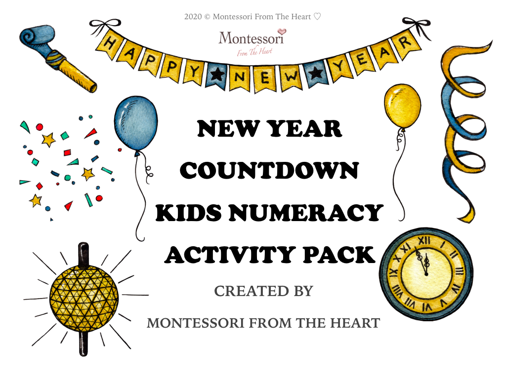 NEW YEAR COUNTDOWN KIDS ACTIVITY