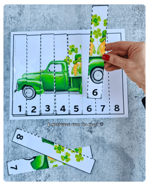St Patrick's 8-STRIP Kids PUZZLE