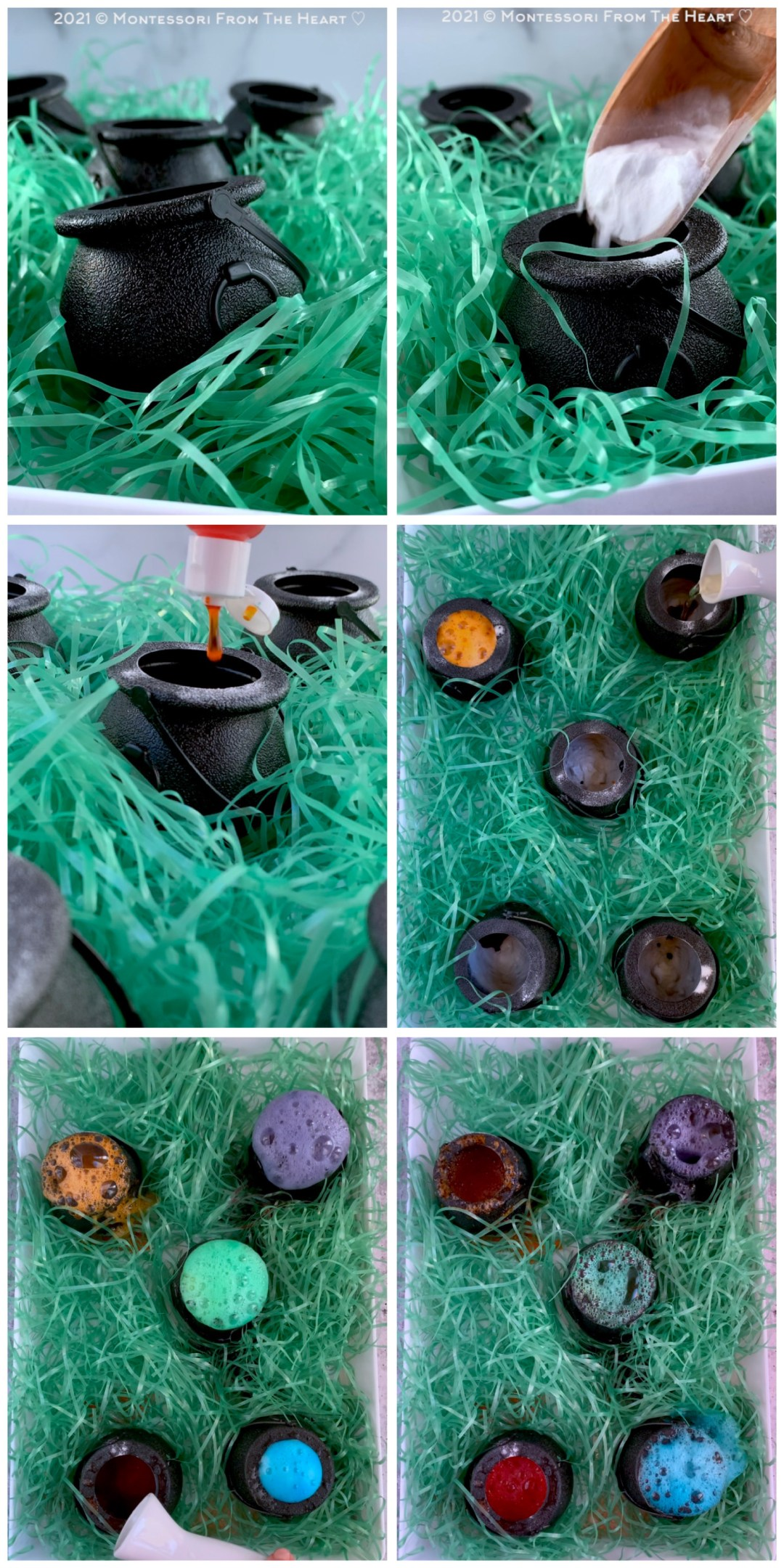 *Bubbling Fizzy Cauldron STEM TASTE-SAFE Kids Experiment