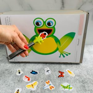 FEED THE FROG KIDS ACTIVITY PRINTABLE