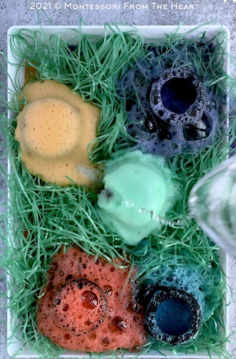 Bubbling Fizzy Cauldron STEM TASTE-SAFE Kids Sensory Bin