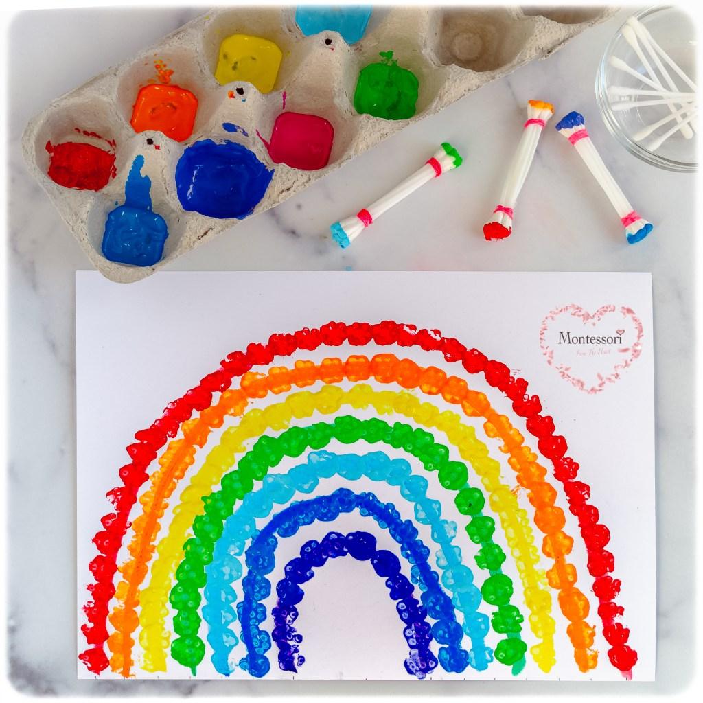 *Rainbow-Q-Tip-Art-Craft-Sensorial-Activity-For-Kids