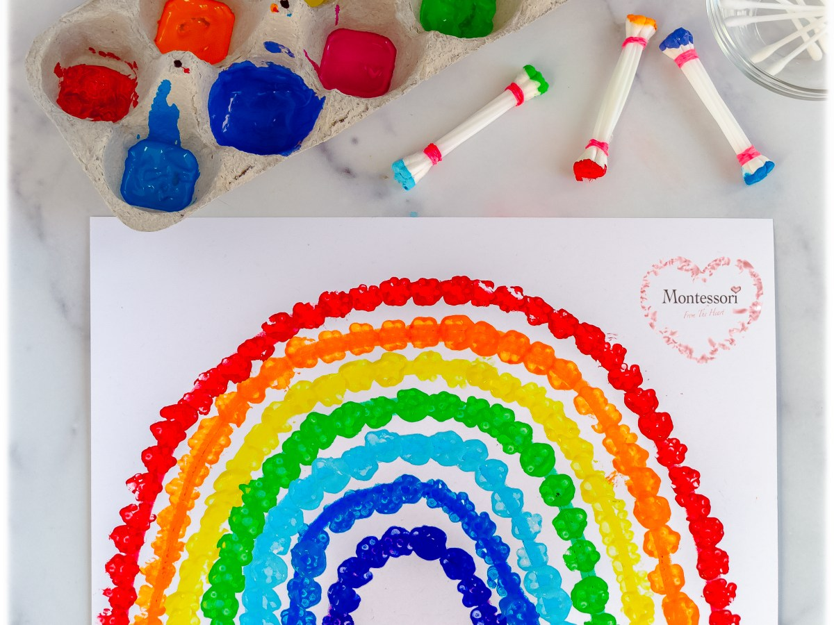 *Rainbow-Q-Tip-Art-Craft-Sensorial-Activity-For-Kids