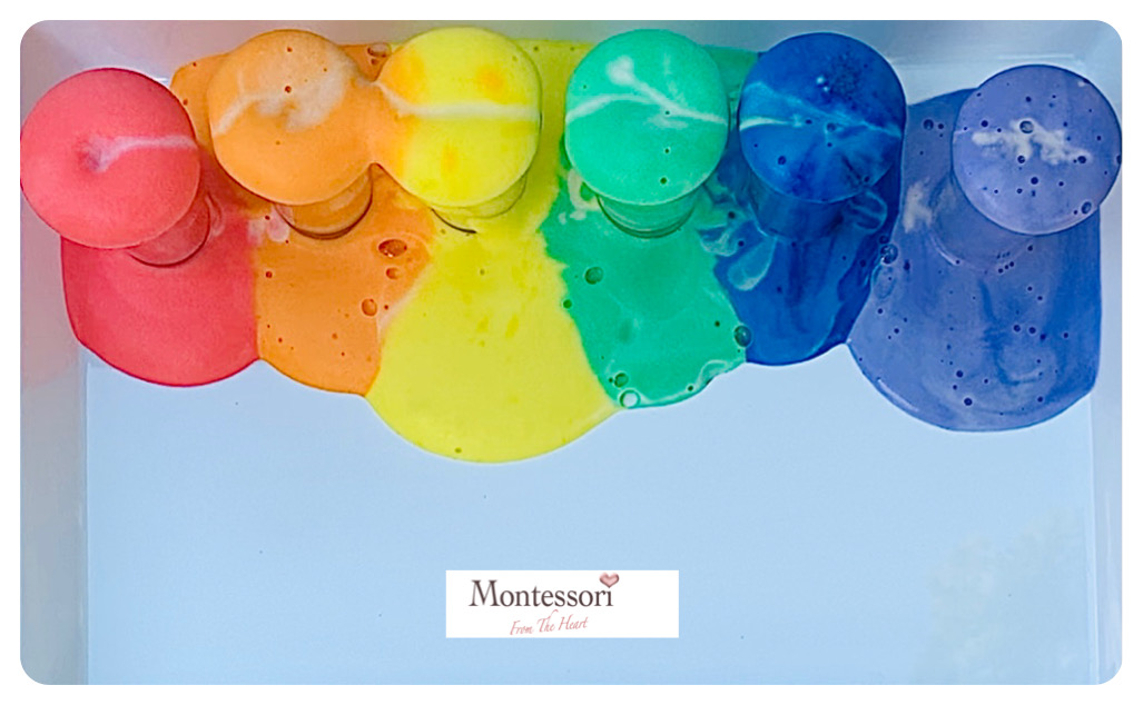 Rainbow Elephant Toothpaste STEM Montessori STEM Science