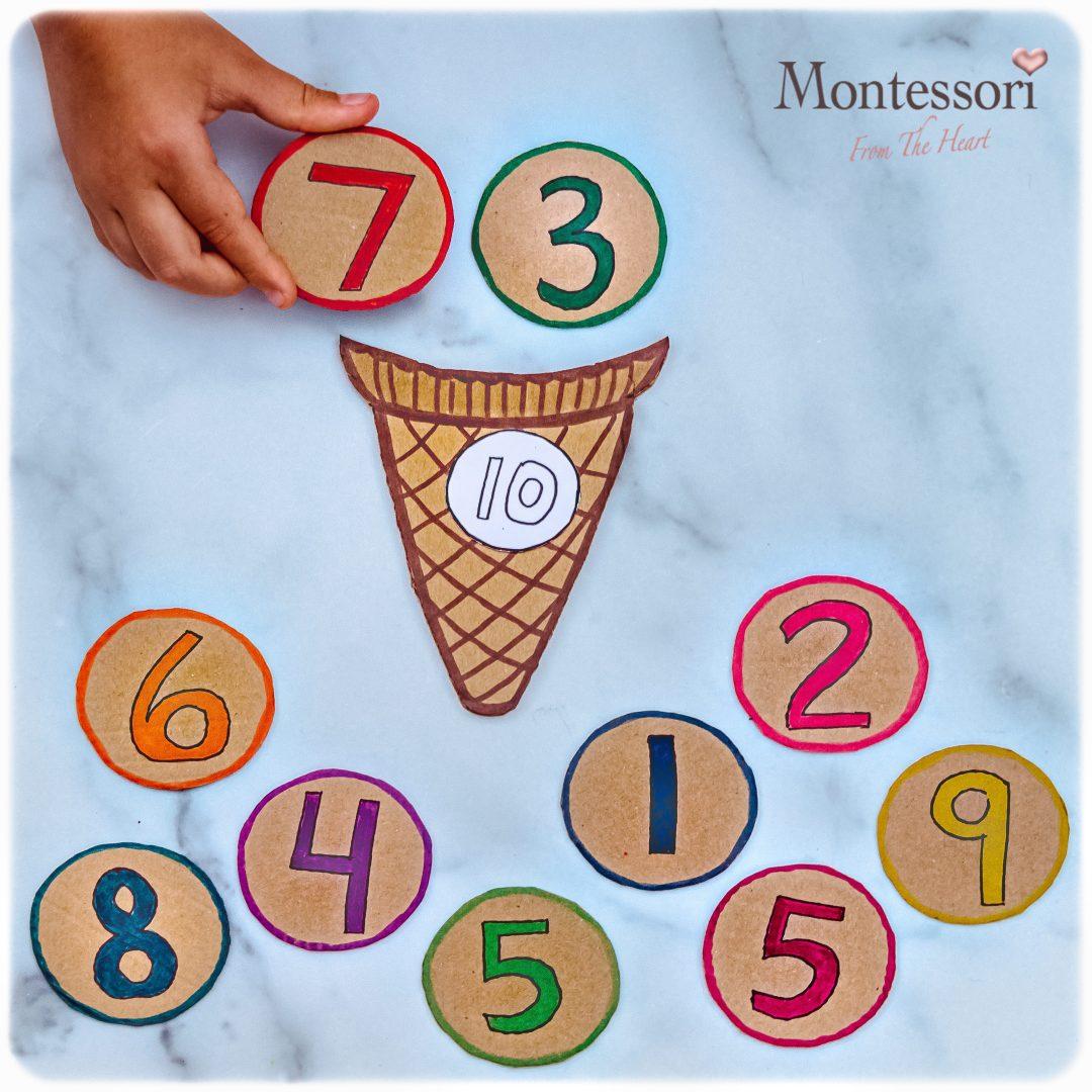 ICE-CREAM-MAKING-10 Montessori Math Common Core