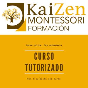 Curso tutorizado. Montessori