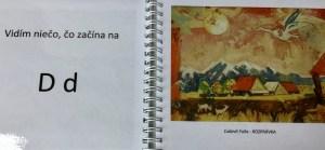 Abeceda, obrazy, písmená