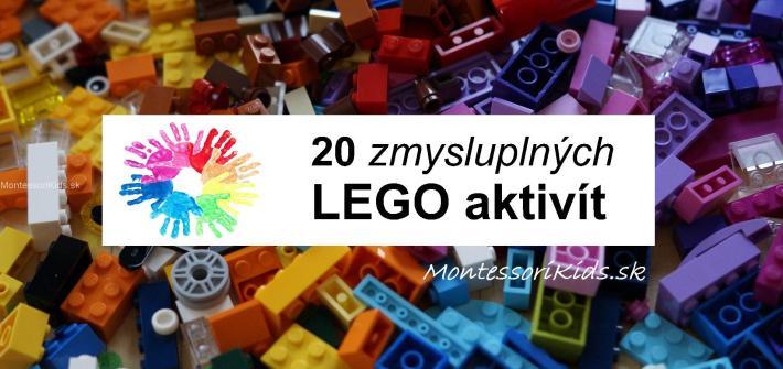 20 Lego aktivit