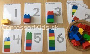 Lego počítanie
