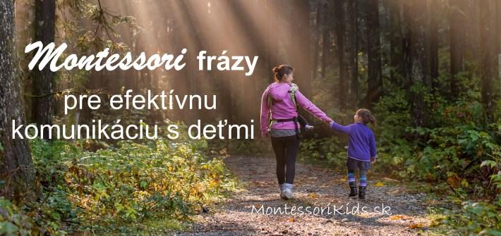 Montessori frázy
