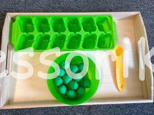 Montessori jablko