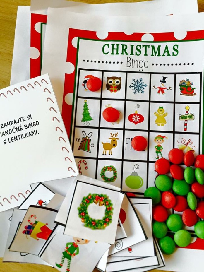 Vianočné bingo