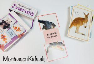 Náučné kartičky Zvieratá