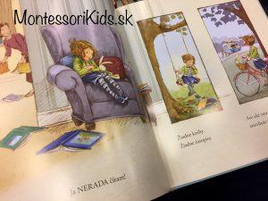 Magdalénka a psík z knižnice