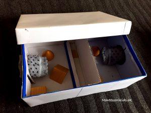 Montessori stereognostické vrecúška