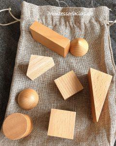 Montessori tajomné vrecúško