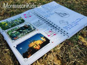 Cestovateľské zážitky - turistický deník