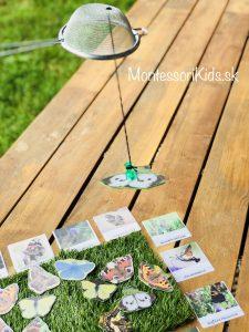 Motýľ - aktivity inšpirované Montessori