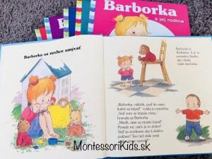 Montessori knižky Barborka