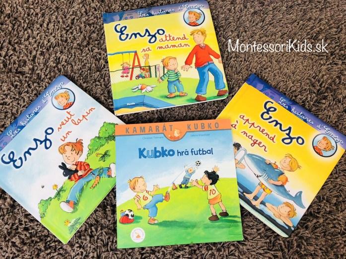 Montessori knižky Kubko