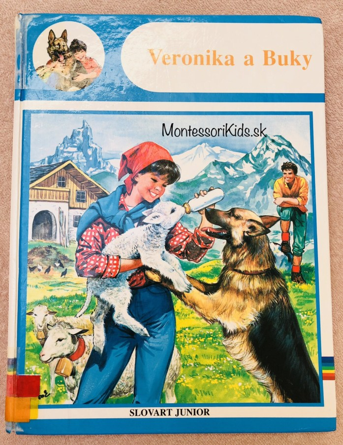 Montessori knižky Veronika a Buky