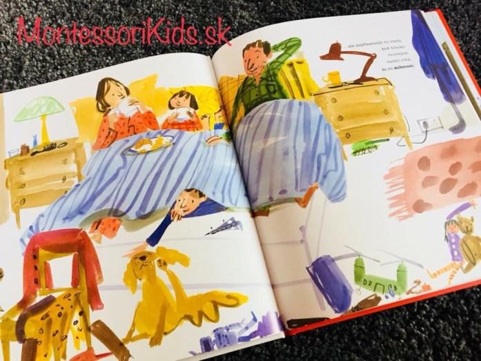 Montessori knižky Knižka o pocitoch