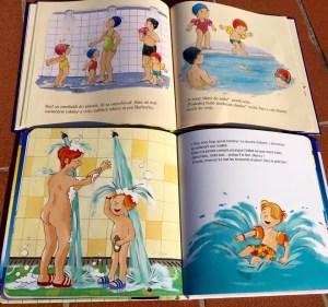 Montessori knižky o vode: Barborka, Kubko, Terka