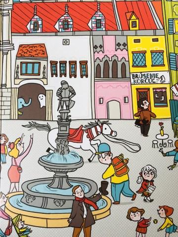 Obrázková kniha o Bratislave