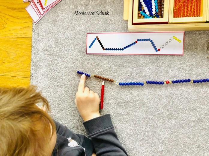 Montessori sčítací hax
