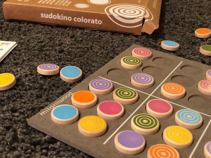 Sudokino - logický hlavolam pre deti