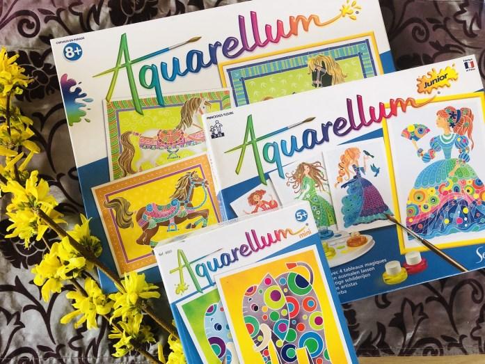 Aquarellum, tvorenie s deťmi