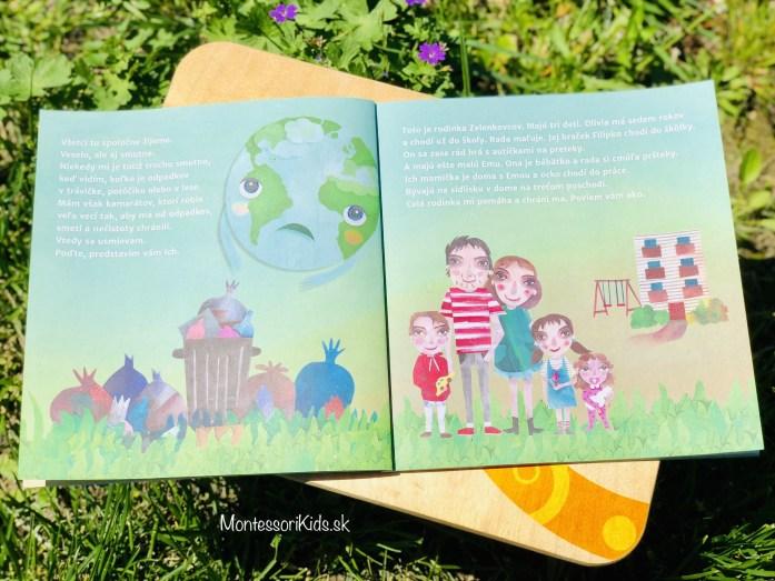 Zerowaste knižka pre deti: Naša planéta sa usmieva