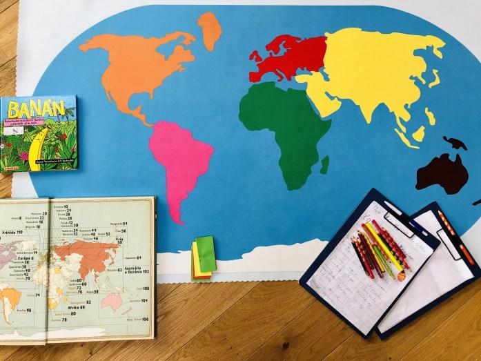Mapa sveta Montessori